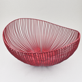 Wire Fruit Basket -  Meo - Red